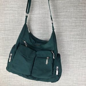 Baggallini Everywhere Travel Cross Body Green Bag
